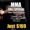 MMA Fall Special